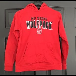 NC State Wolfpack Youth M  Red Hoodie